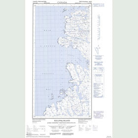 Canadian Topo Map - Killiniq Island - Map 025A07W