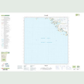 Canadian Topo Map - Perry Bay - Map 025G15
