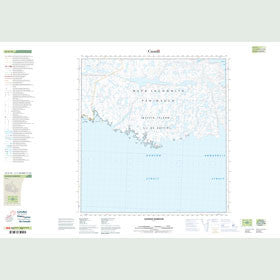 Canadian Topo Map - Nannuk Harbour - Map 025G16