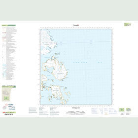 Canadian Topo Map - Potter Island - Map 025I04