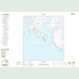 Canadian Topo Map - Sumner Island - Map 025I13
