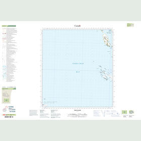 Canadian Topo Map - Field Island - Map 025O03