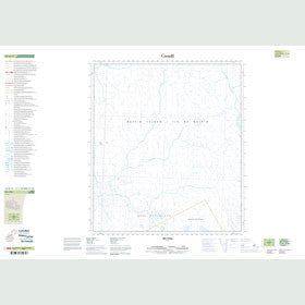 Canadian Topo Map - Map 025O15