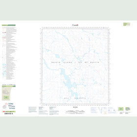 Canadian Topo Map - Map 025O16