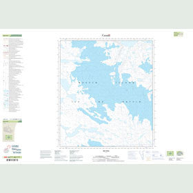 Canadian Topo Map - Map 026A04