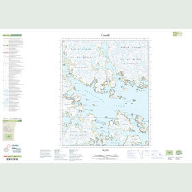 Canadian Topo Map - Map 026G13