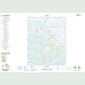 Canadian Topo Map - Isurtuq River - Map 026K12