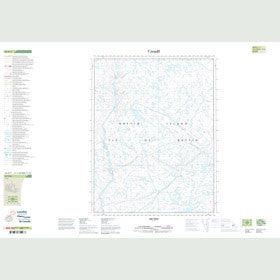 Canadian Topo Map - Map 026N03