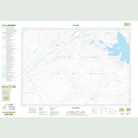 Canadian Topo Map - McBeth River - Map 027C06