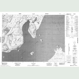 Canadian Topo Map - Clyde River - Map 027F08