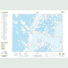 Canadian Topo Map - Map 027F12