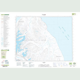 Canadian Topo Map - Map 027G05