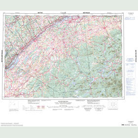 Canadian Topo Map - Ogdensburg - Map 031B