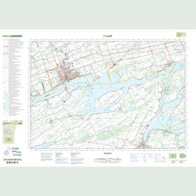 Canadian Topo Map - Belleville - Map 031C03