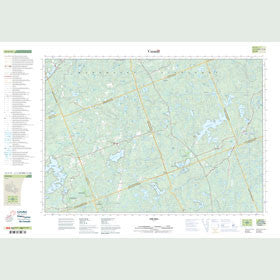 Canadian Topo Map - Coe Hill - Map 031C13