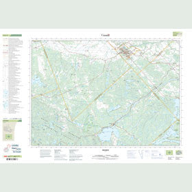 Canadian Topo Map - Renfrew - Map 031F07