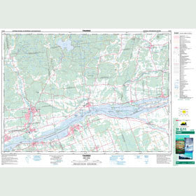 Canadian Topo Map - Thurso - Map 031G11