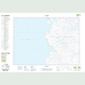 Canadian Topo Map - Cape Ellice - Map 047C10