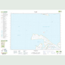Canadian Topo Map - Cape Englefield - Map 047C15