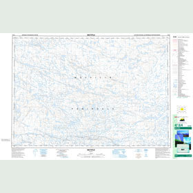Canadian Topo Map - Map 047D04
