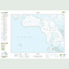 Canadian Topo Map - Skeoch Bay - Map 047D09