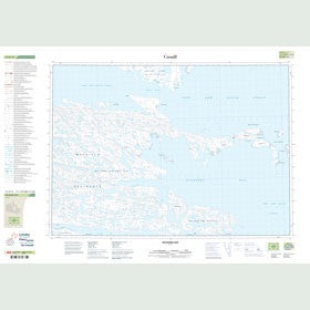 Canadian Topo Map - Richards Bay - Map 047D11