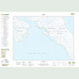 Canadian Topo Map - Cape Griffith - Map 047D15