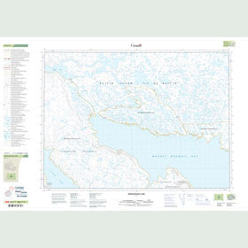 Canadian Topo Map - Ayaraatulik Lake - Map 047E02
