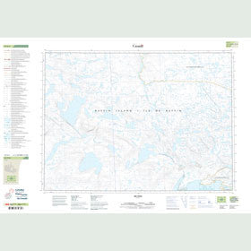 Canadian Topo Map - Map 047E04