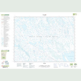 Canadian Topo Map - Map 047E08