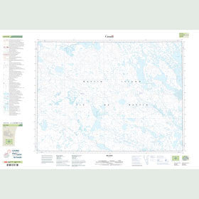 Canadian Topo Map - Map 047E10