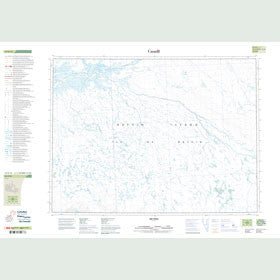 Canadian Topo Map - Map 047E12