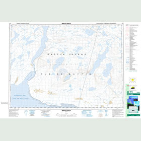 Canadian Topo Map - Whyte Inlet - Map 047F01