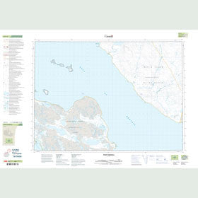 Canadian Topo Map - Point Kendall - Map 047F03