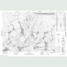 Canadian Topo Map - Map 047F08