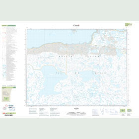 Canadian Topo Map - Map 047F13