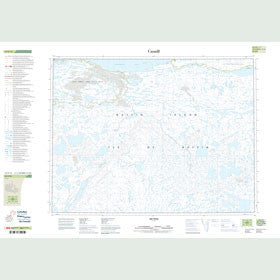 Canadian Topo Map - Map 047F14