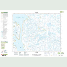 Canadian Topo Map - Fall River - Map 047G01