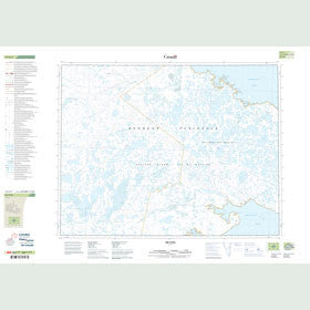 Canadian Topo Map - Map 047G07