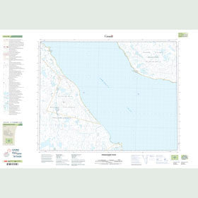 Canadian Topo Map - Prudhomme Point - Map 047G10