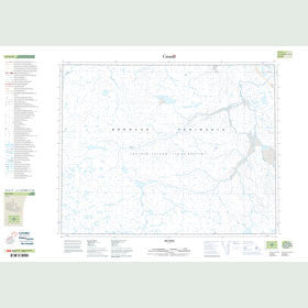 Canadian Topo Map - Map 047G11