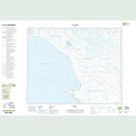 Canadian Topo Map - Inungnait Hills - Map 047G15