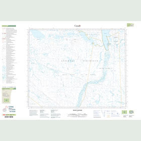 Canadian Topo Map - Mount Centrum - Map 047G16