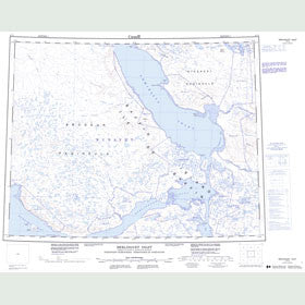 Canadian Topo Map - Berlinguet Inlet - Map 047G