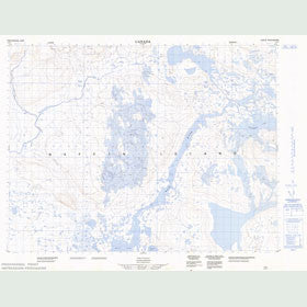 Canadian Topo Map - Map 047H01