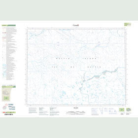 Canadian Topo Map - Map 047H02