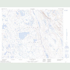 Canadian Topo Map - Map 047H09