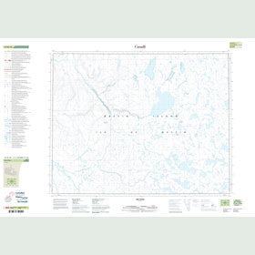 Canadian Topo Map - Map 047H10