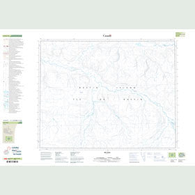 Canadian Topo Map - Map 047H11