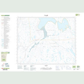 Canadian Topo Map - Map 047H15